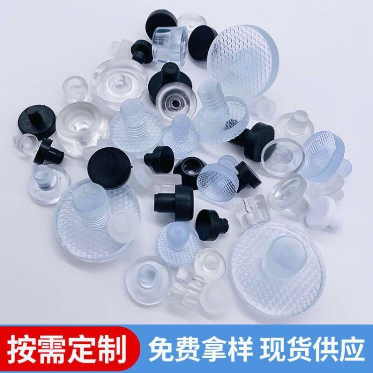 嘉正 pvc防尘防护密封透明硅胶塞子 深孔密封耐磨硅胶塞橡胶塞子