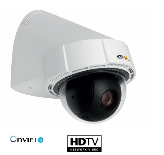 AXIS P5414-E 智能直驱式PTZ网络摄像机双向音频
