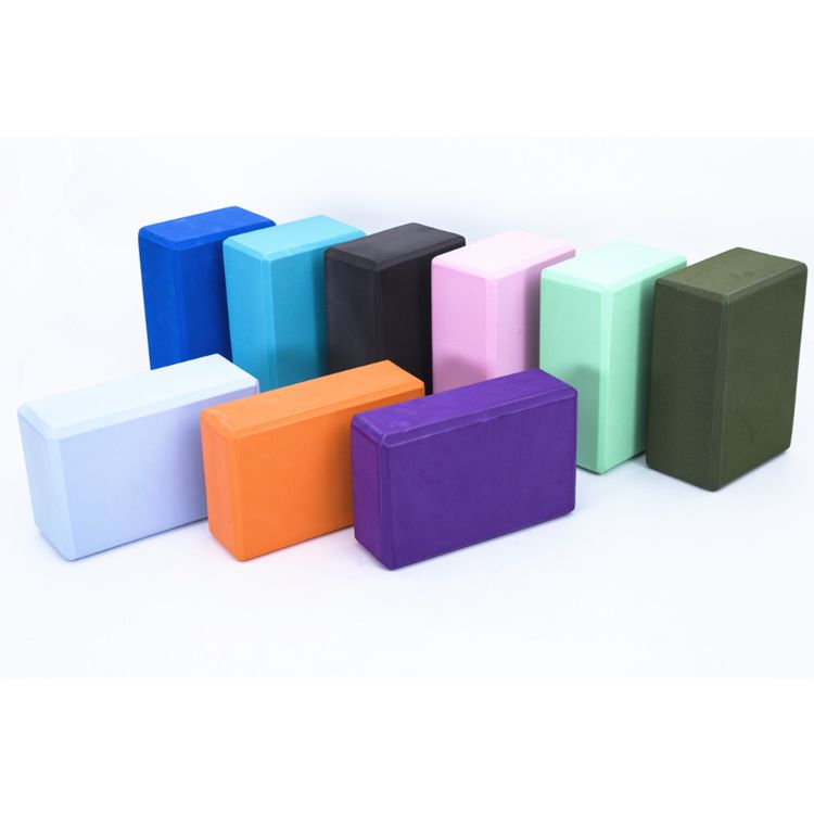 供应 eva瑜伽砖 eva轻质泡沫无味砖 平衡砖 初级瑜伽辅助 可定制
