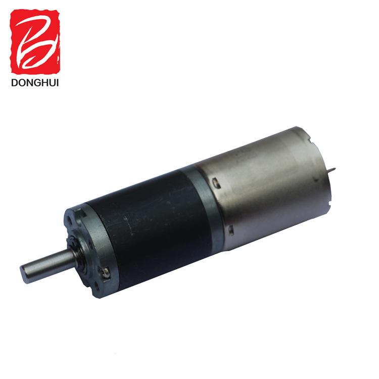 专业生产东汇牌24mm行星齿轮减速箱马达 12V、24V直流减速电机