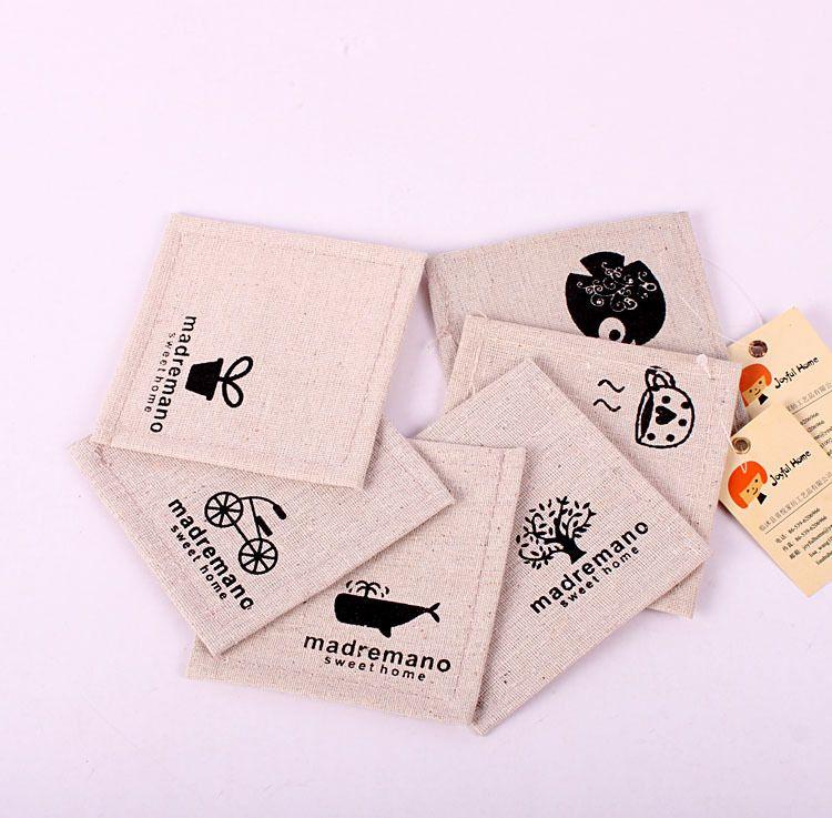 zakka棉麻收纳厂家专业生产批发收纳杯垫