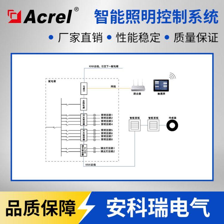 安科瑞电气Acrel-Bus智能照明控制系统 开关灯-调节灯光 100个点位