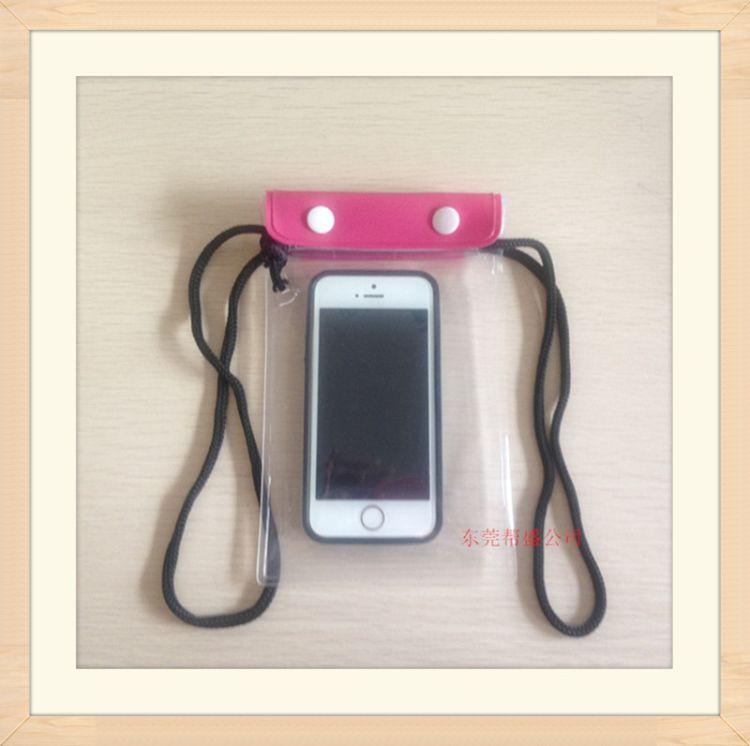 供应PVC手机透明防水袋 优质苹果手机可触屏密封包装袋 保护袋