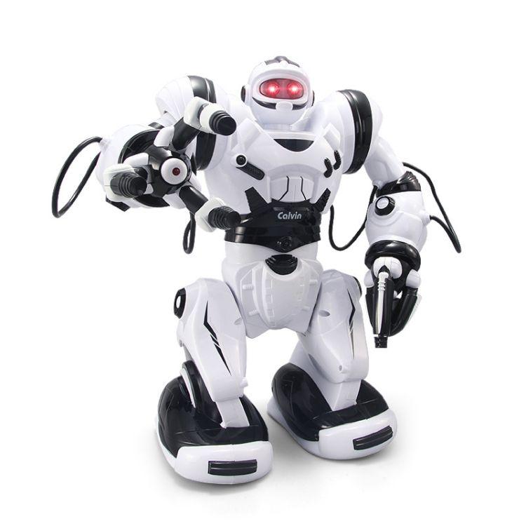 锋源 多功能智能遥控机器人 电动儿童语音对话充电跳舞益智玩具
