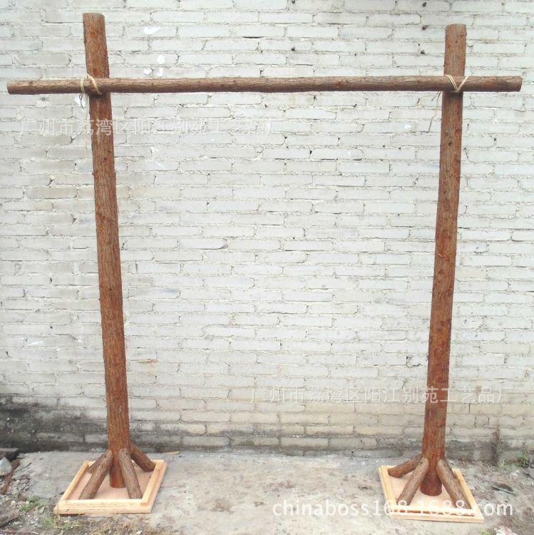 装饰拱门婚庆森系道具迎宾背景木架木质拱门架子花门森系布置用品