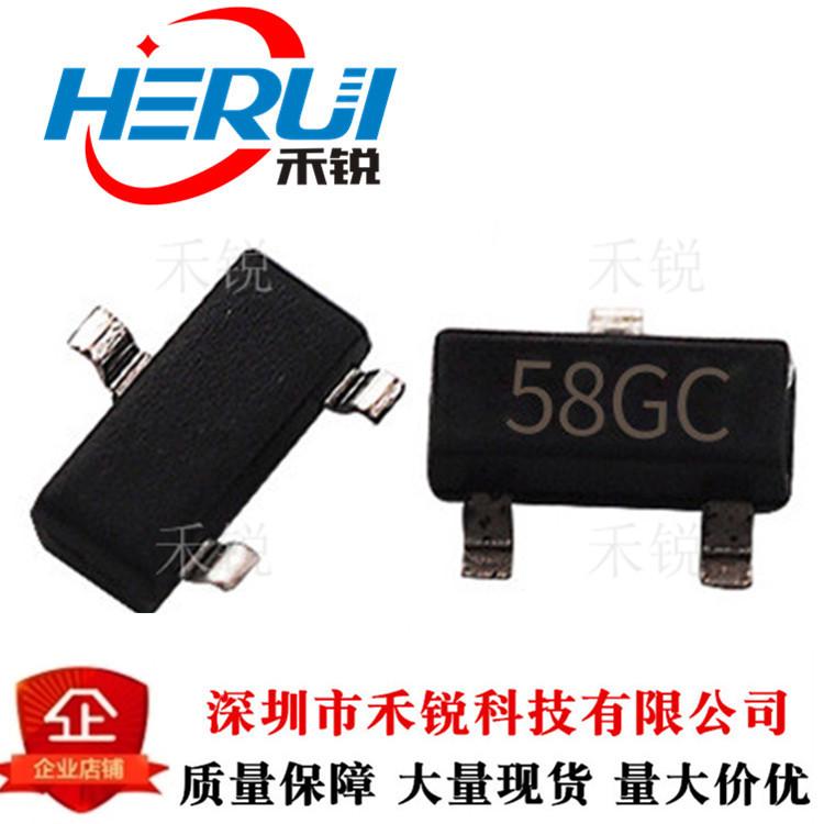 CJ长电XC6206P252MR 2.5V 58GC丝印SOT23正电压稳压器芯片
