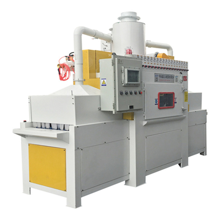 供應廣州深圳專用噴砂機-除銹去氧化自動輸送噴砂機廠家直銷