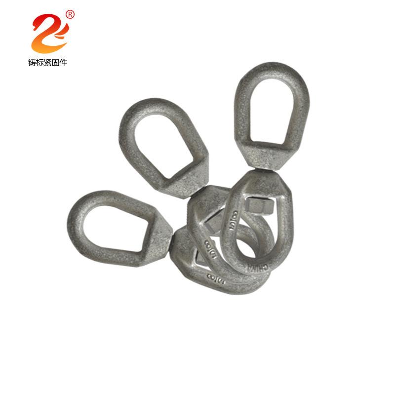 304不锈钢万向旋转环   8字转环   狗链索具配件   万向环条扣环