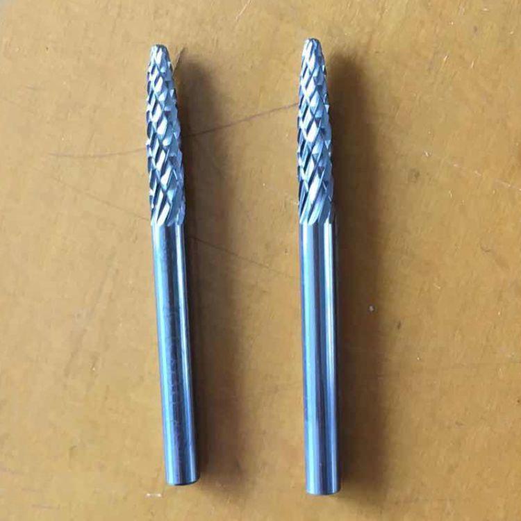 厂家直销胜旋转锉钨钢磨头整体合金F03金属打磨配件