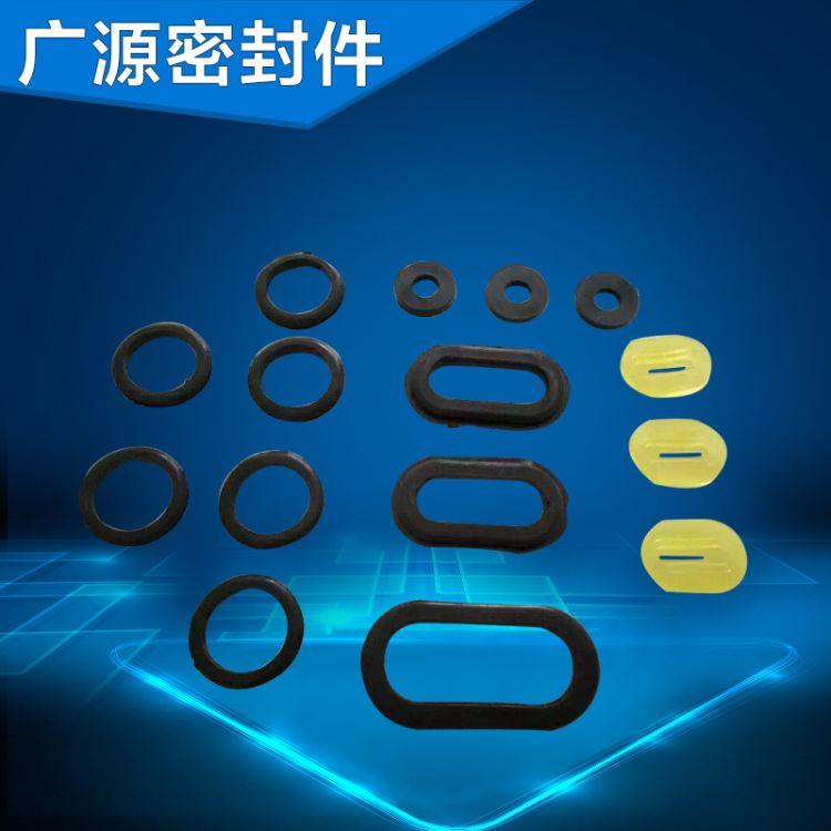 热销推荐 黑色环形胶垫 高品质减震胶垫 电器耐高温胶垫