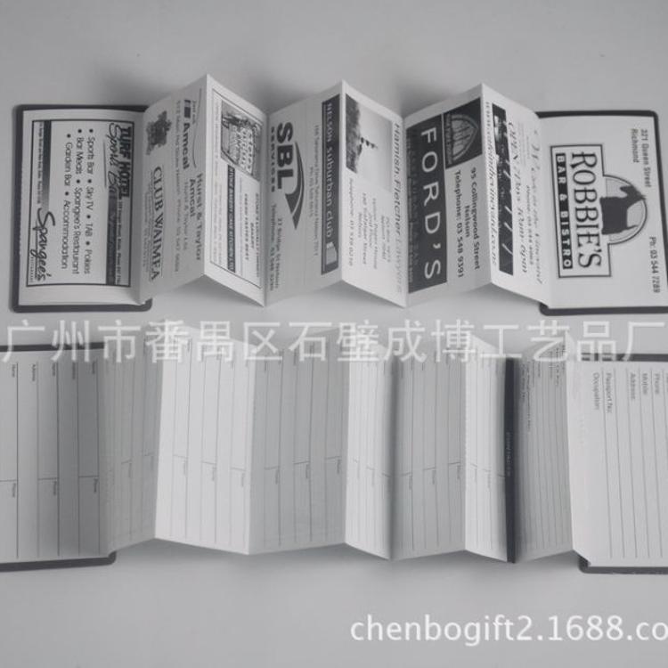 欢迎来图定做磁性电话本  促销礼品广告宣传册  对吸磁石通讯录