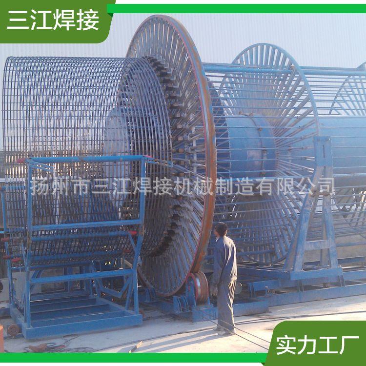 生产 直径5500钢筋骨架滚焊机高频逆变全自动滚焊机(HGz300-4400)