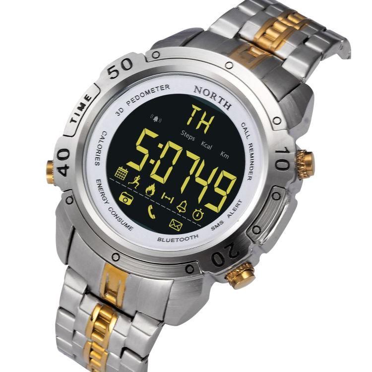 男士手表智能手表爆款蓝牙运动计步电话信息闹钟提醒防水夜光表