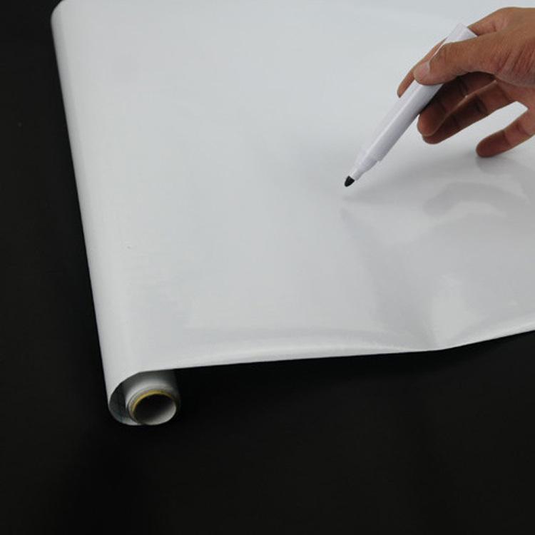 儿童绘画教学涂鸦墙贴环保可擦写办公加厚pvc绿板贴黑板白板墙纸