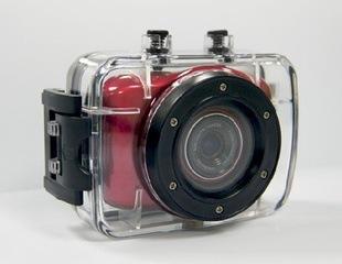 户外运动数码防水摄像机 高清720p 头戴式运动DV 车载迷你相机