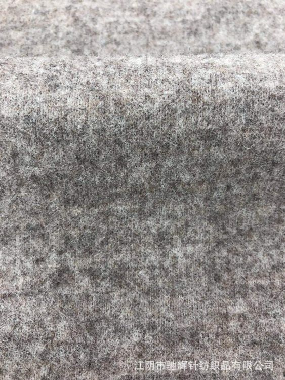【厂家直销】CH173029针织毛呢罗马呢起毛布