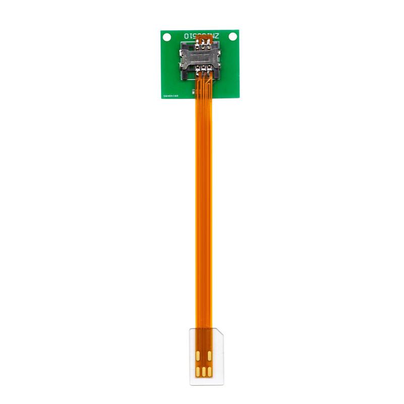 ZN1B150Y SIM标准正向转SIM标准 延续长线15cm线长 SIM卡座