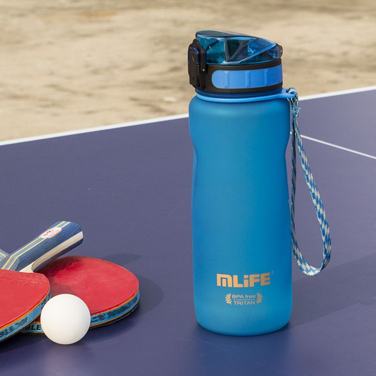 mlife爆款夏季户外运动水壶 800ML塑料太空杯子 贴牌定制logo