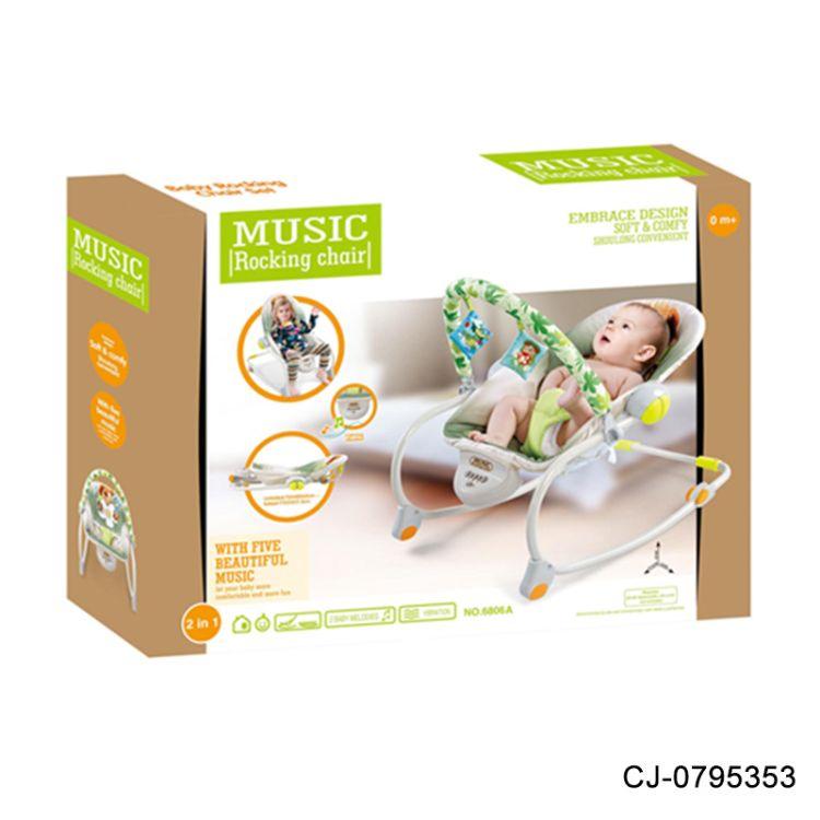 宝宝电动摇椅 多功能音乐安抚躺椅 婴幼儿玩具 哄睡 厂家直销
