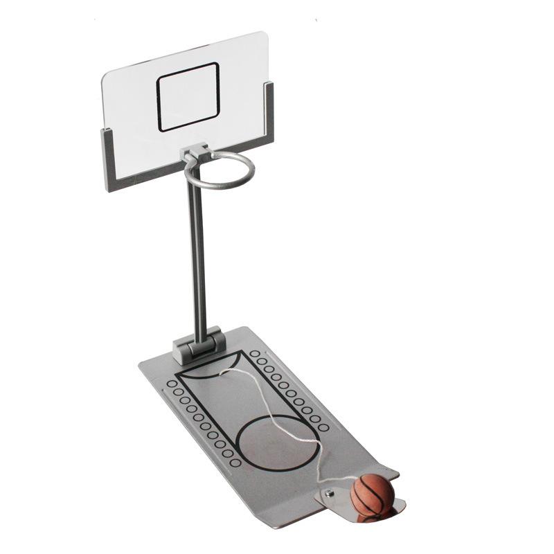 新款 台式微型折叠篮球机 桌面减压 掌上迷你投篮机亚马逊热卖