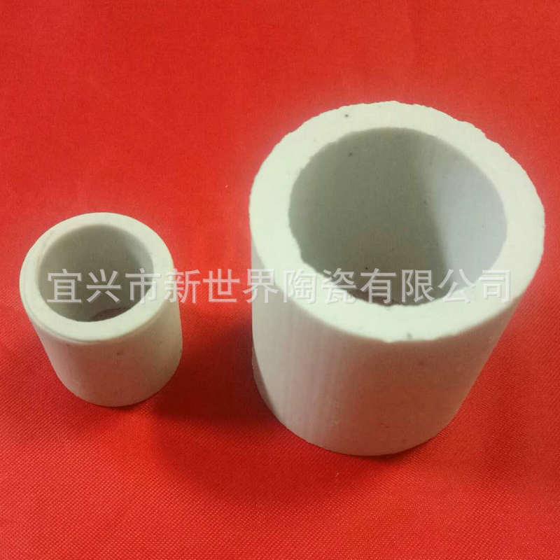 鲍尔环 冷却塔化工陶瓷填料 氧化铝瓷环 拉西环 鲍尔环填料定制