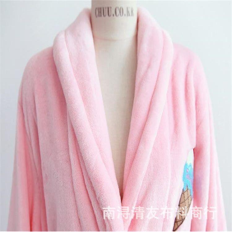 厂家大量批发单面素色法兰绒保暖绒布面料 超柔家居服法兰绒面料