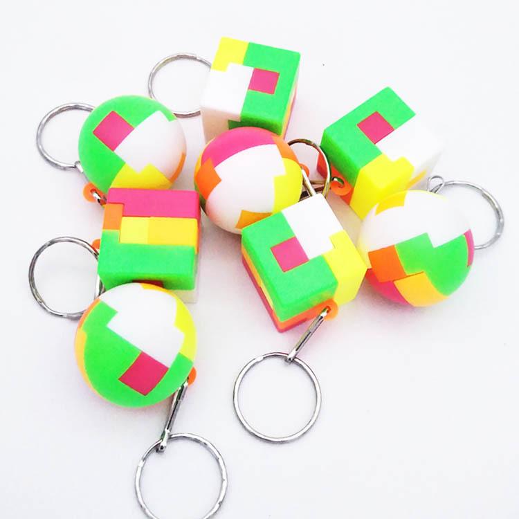 创意智力拼装球儿童益智拼插积木玩具男女孩怀旧魔方球玩具礼品