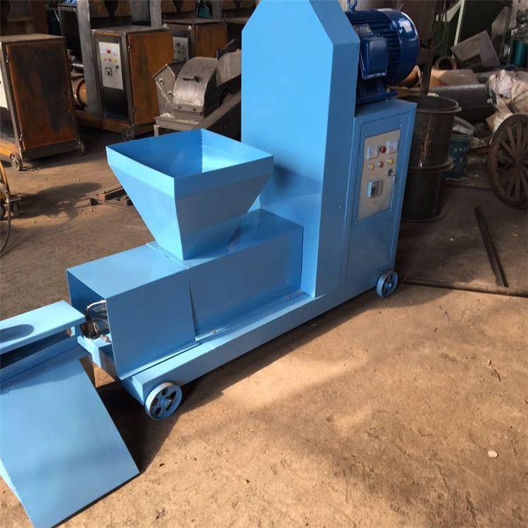 环保新能源设备 新型木屑锯末机制木炭机 多功能木材制棒机