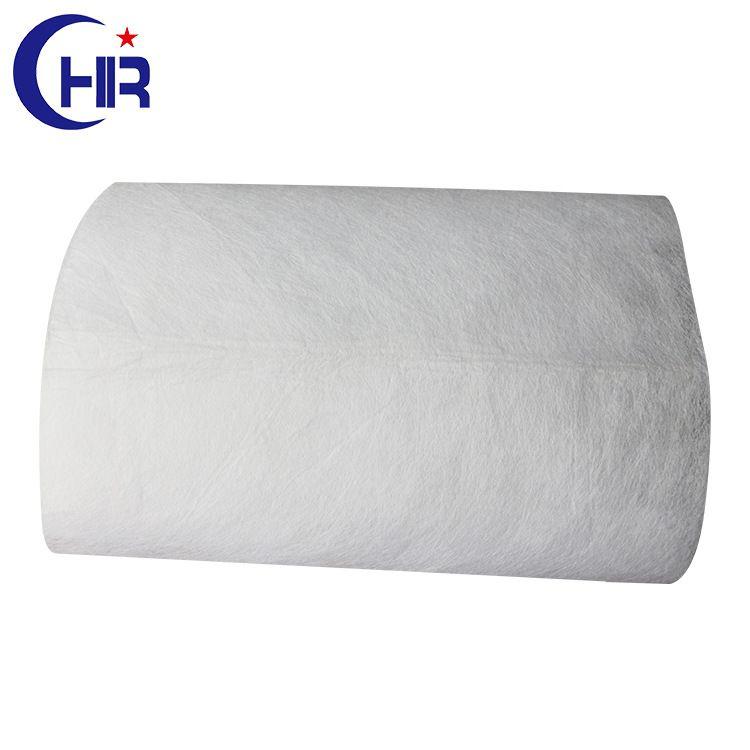 厂家直销50g白色光辊(棍)热轧无纺布 PET无纺布