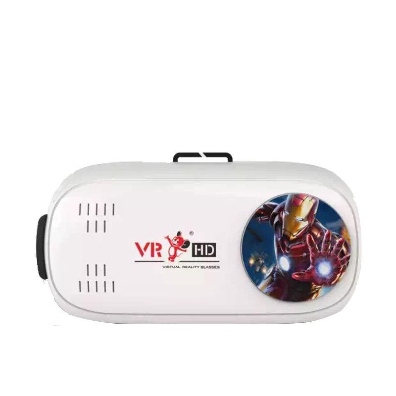 深圳厂家直销手机VR虚拟现实3D智能眼镜 二代VR眼镜低价礼品定制