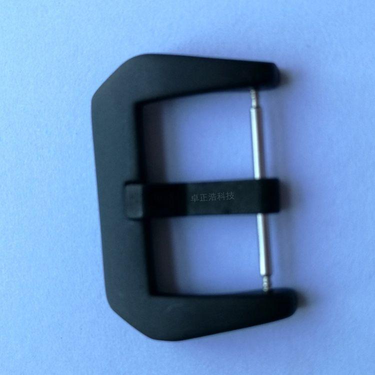 厂家供应环保不锈钢钟表扣 真皮表带硅胶带手表扣 佩纳海原装扣