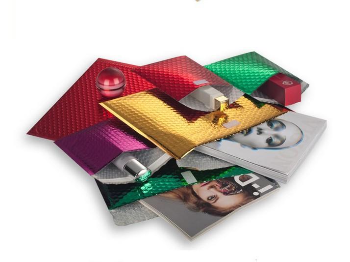 厂家直销镀铝膜气泡邮政信封袋服装复合防水袋子包装袋包邮定制