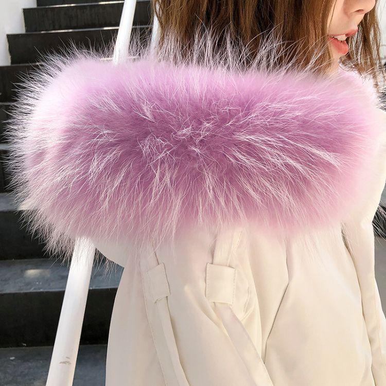 羽绒服女2019新款冬季中长款韩版时尚过膝品牌折扣女装宽松大毛领白鸭绒加厚潮
