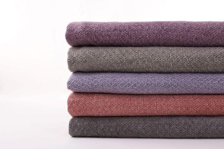 厚重沙发黄麻 粗犷天然纤维 环保布艺 沙发抱枕 搭巾盖毯 北欧风