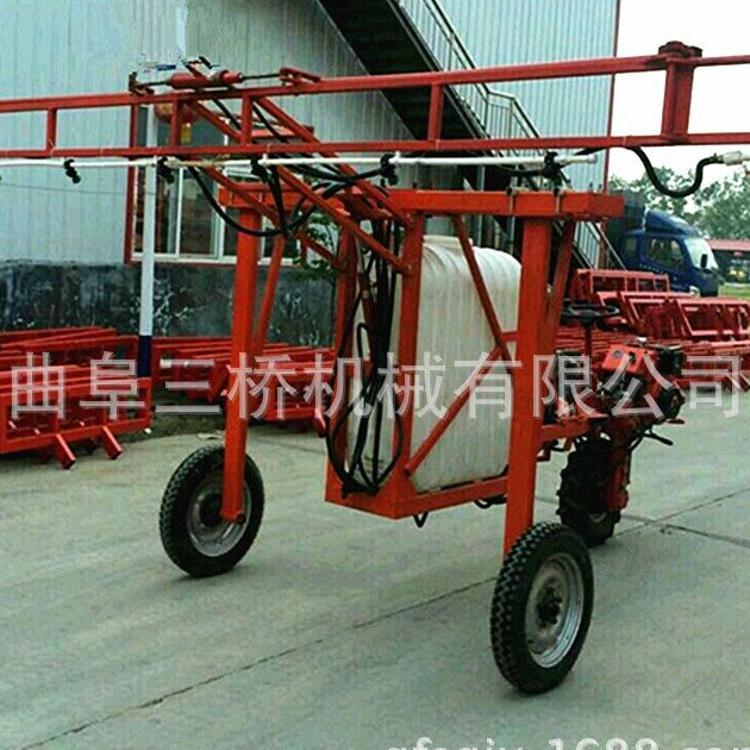 高杆农作物打药车 自走式多喷头打药机 宽幅多功能型