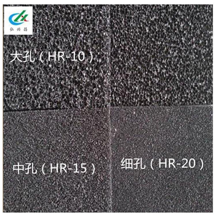 活性炭纤维棉 喷漆房尾气过滤棉 去异味除臭活性炭海绵 阻燃海绵