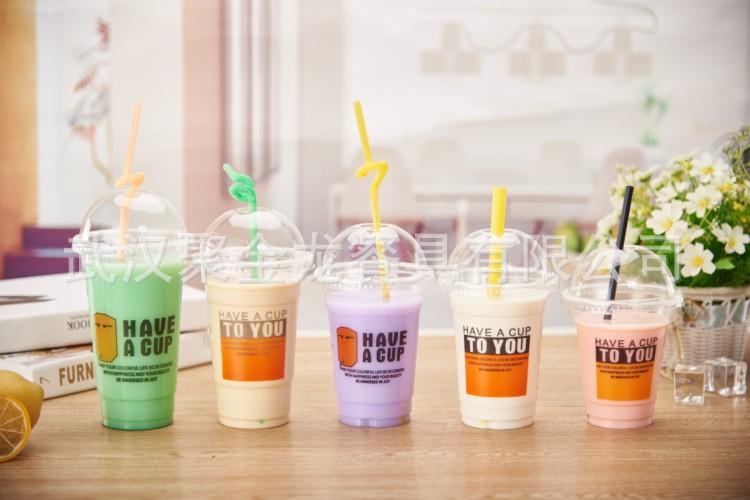 聚金龙直销 一次性PP塑料杯子  透明加厚 1000只装 可订制logo