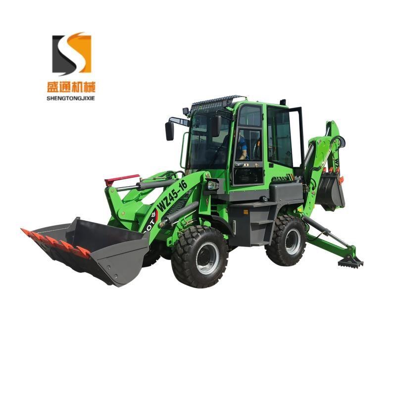 两头忙挖掘装载机 全新矿用 前铲后挖一体机 可配多种属具使用