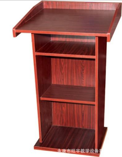 厂家直销 校具批发 教室讲台桌子 教师用桌前台服务台桌子定制