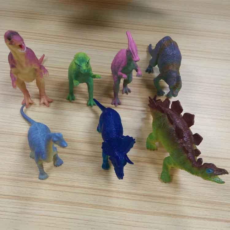 厂家定做大型仿真恐龙模型玩具塑胶恐龙模型手办玩具节日礼品促销