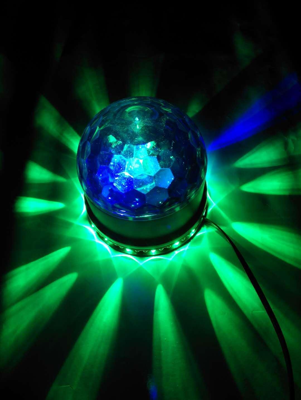 LED小太阳舞台灯迷你激光舞台灯声控灯春节彩灯 15W迷你激光灯