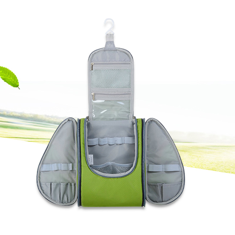 定制洗漱包多功能分区设计 防泼水处理储物有序 防撕裂面料直销