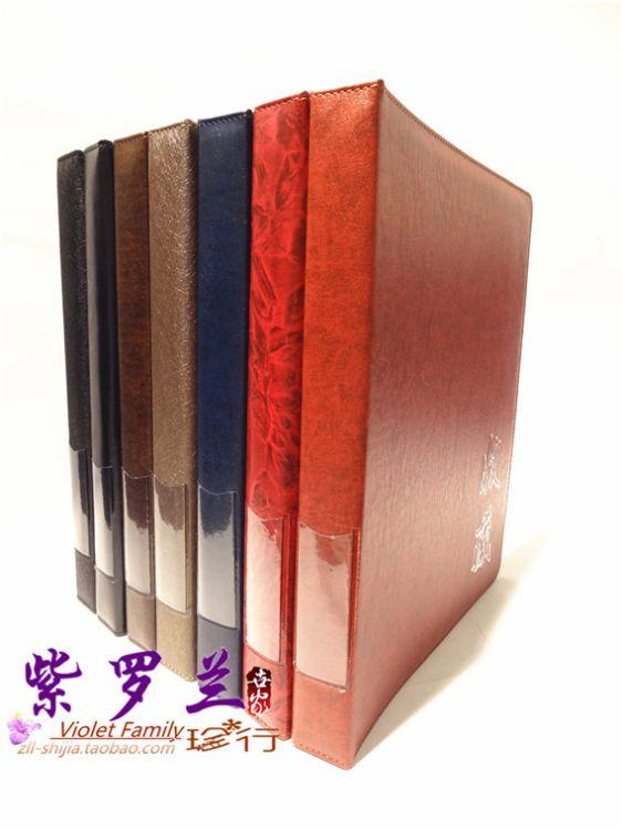 厂家供应Violet Collectiom 高品质、高质量手工集邮册 规格齐全