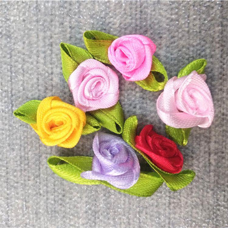 手工芭比迷糊娃娃配件装饰辅料小花朵玫瑰花头饰发饰衣服胸花配饰