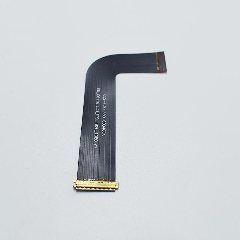 厂家长期供应LVDS线hdmi高清晰ffc线 4K液晶屏连接线 镀金屏蔽线