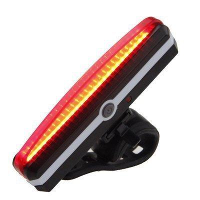 USB自行车尾灯 警示灯 山地车灯 高亮警示灯配件 山地车装备