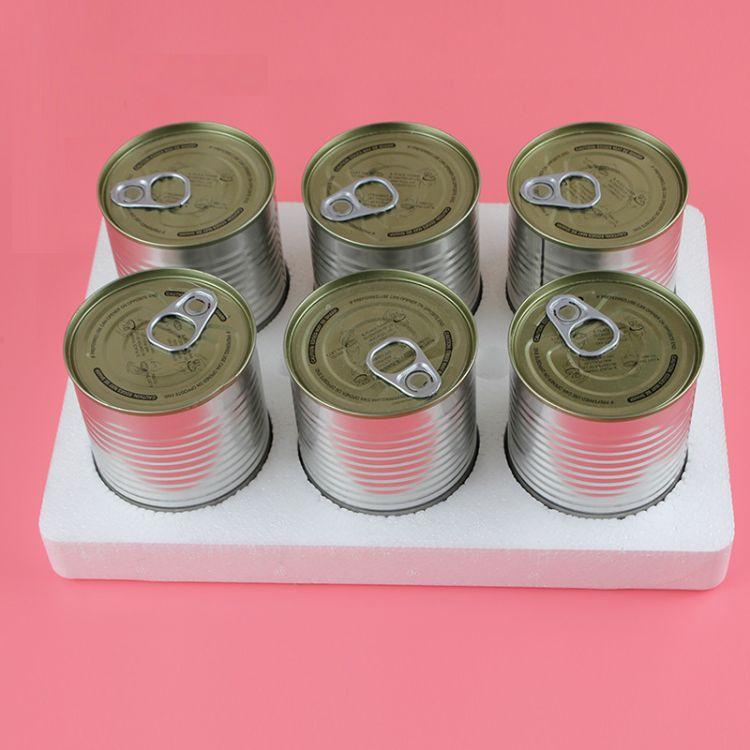 泡沫盒 罐头泡沫内衬  EPS发泡泡沫 425/312罐头包装材料 单片