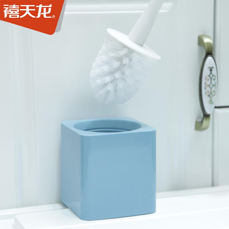 禧天龙家用马桶刷子洗厕所卫生间坐便器清洁刷长柄无死角厕所刷子