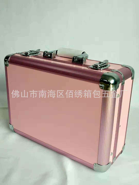 D730带灯化妆箱LED灯手提化妆箱5V充电宝可上飞机化妆箱