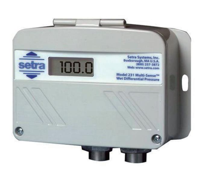 原装正品 西特Setra 多配置Model 231湿型差压传感器